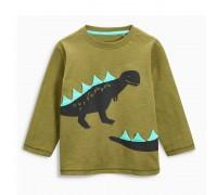 Кофта для мальчика Динозавр лонгслив