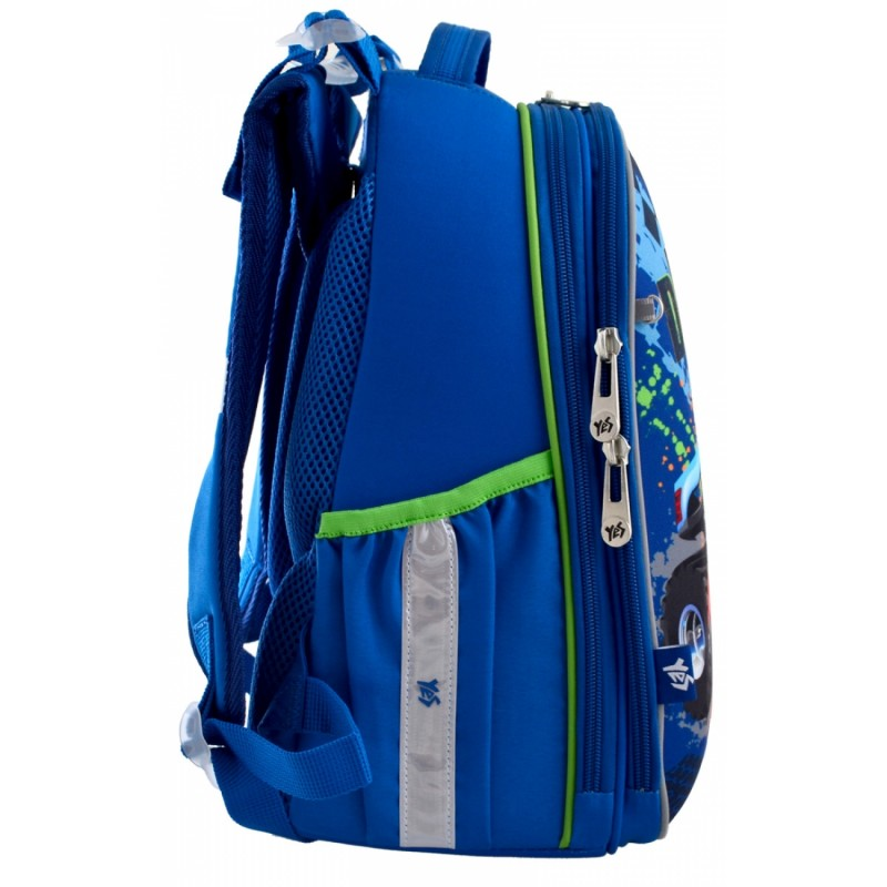 Рюкзак школьный каркасный M-Trucks фото