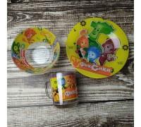 Набор детской посуды Интерос 3 предмета Фиксики