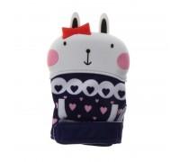 Прорезыватель - перчатка Кролик девочка