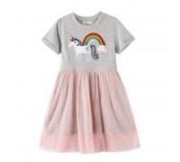 Платье для девочки Небесный единорог