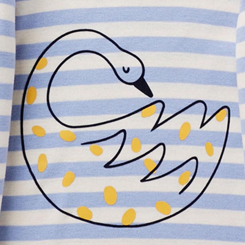 Кофта для девочки Лебедь фото