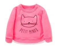 Кофта для девочки Кошечка Pink