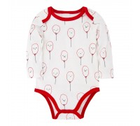 Боди детский Воздушные шарики  (0-3 мес)
