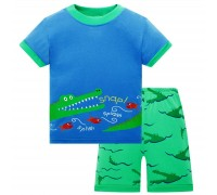 Пижама для мальчика Крокодил