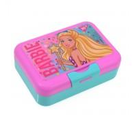 Контейнер для еды Barbie 450 мл с ложкой и вилкой