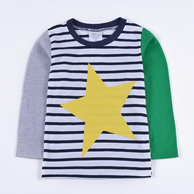 Лонгслив детский Yellow star
