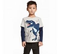 Лонгслив для мальчика Dinosaur roar
