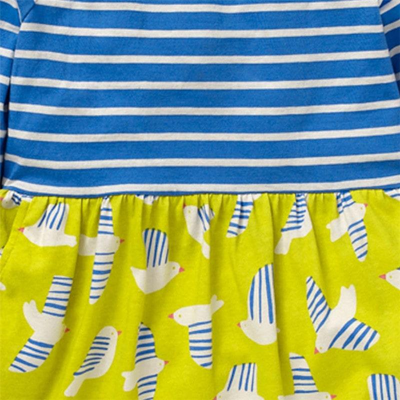 Платье для девочки Чайки