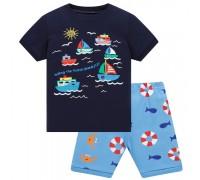 Пижама для мальчика Кораблики