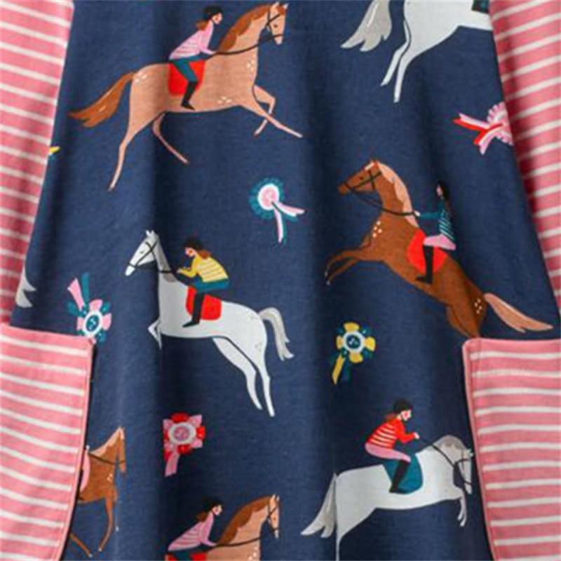 Платье для девочки Скачки