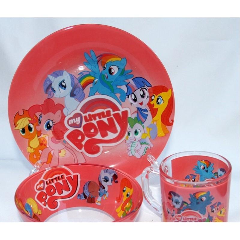 картинка Набор детской посуды PONY