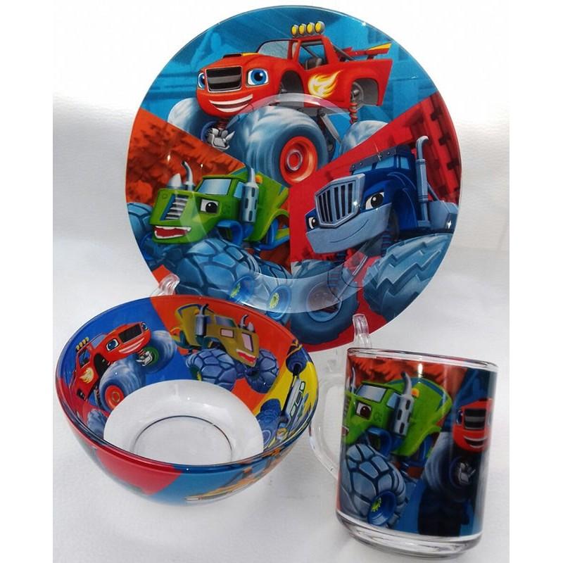 картинка Набор детской посуды 3 предмета BLAZE