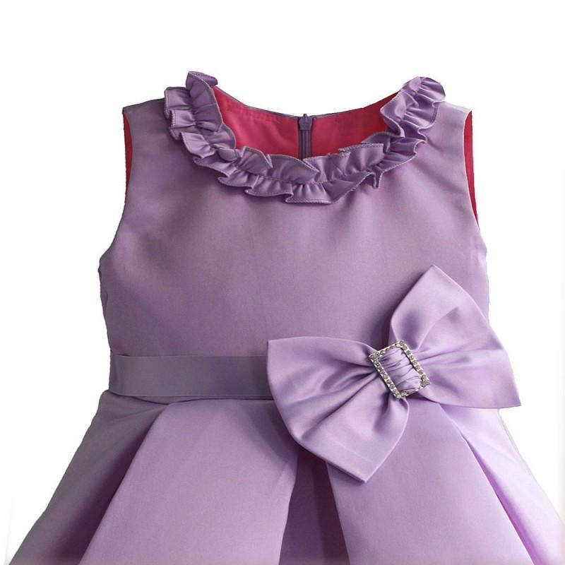 Платье для девочки Бант, сиреневый