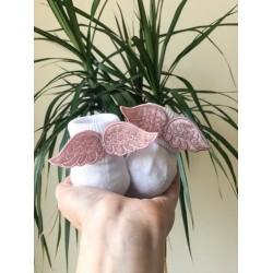 Шкарпетки Ангел (рожеві)