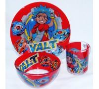 Набор детской посуды Disney BEYBLADE з предмета