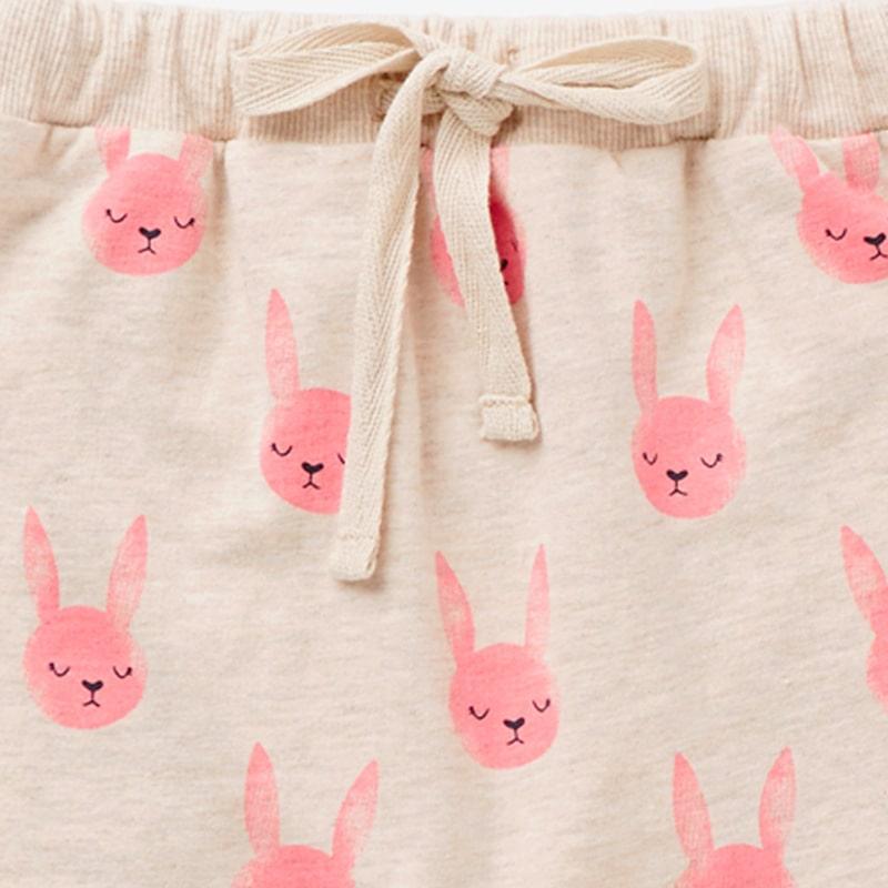 Штаны для девочки Rabbits Pink