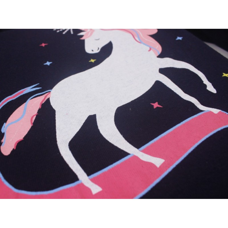 Пижама для девочки White unicorn
