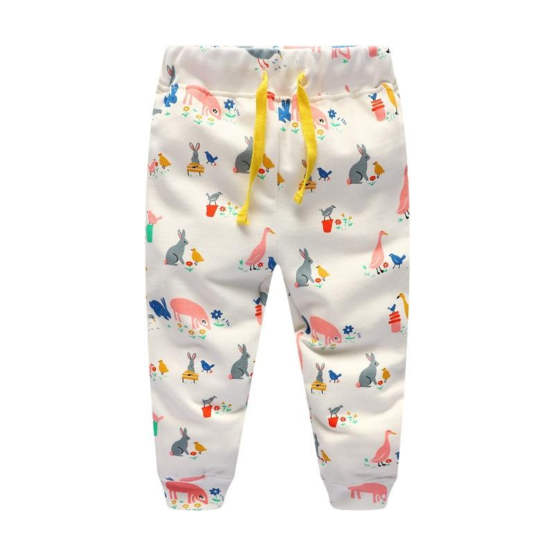 Штаны для девочки Животные