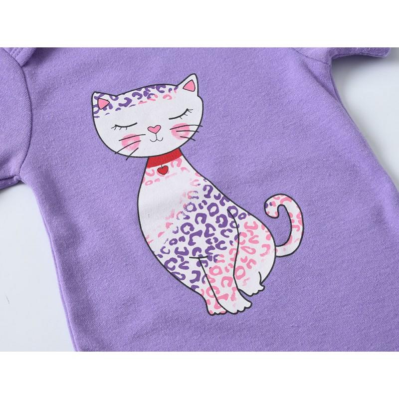 Боди для девочки Leopard cat