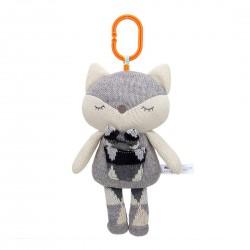 Мягкая игрушка - подвеска Лиса
