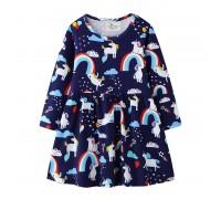 Платье для девочки Радостные Единороги