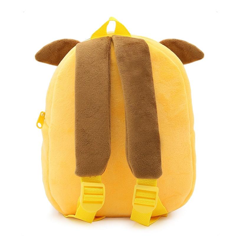 Рюкзак велюровый Щенок