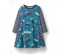 Платье для девочки НЛО