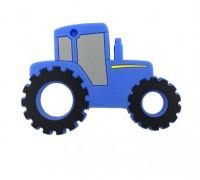 Прорезыватель Трактор, синий