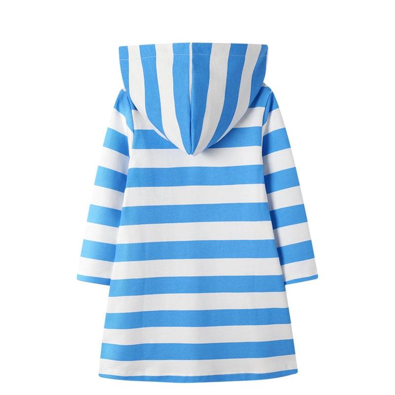Платье с капюшоном для девочки Мечтательная русалочка