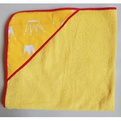 фото полотенце уголок для купиния Желтый