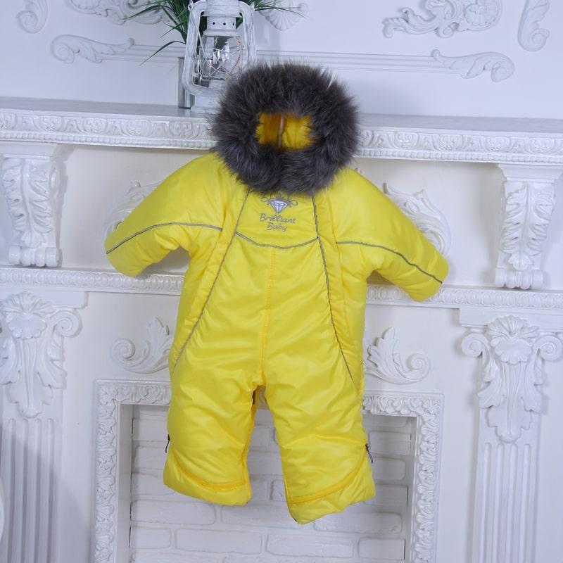 фото детский зимний комбинезон