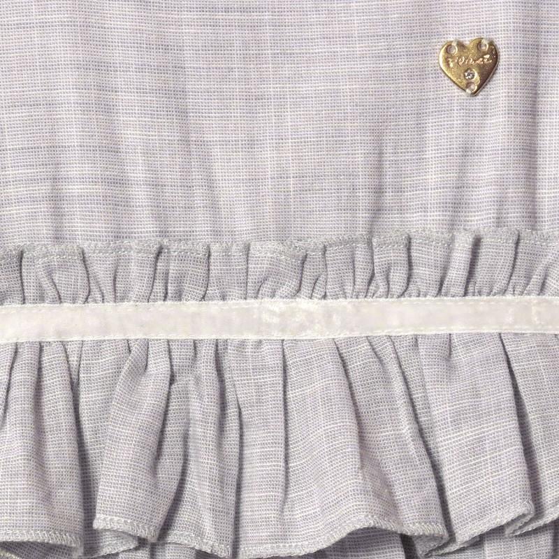 Платье для девочки Золушка, серый