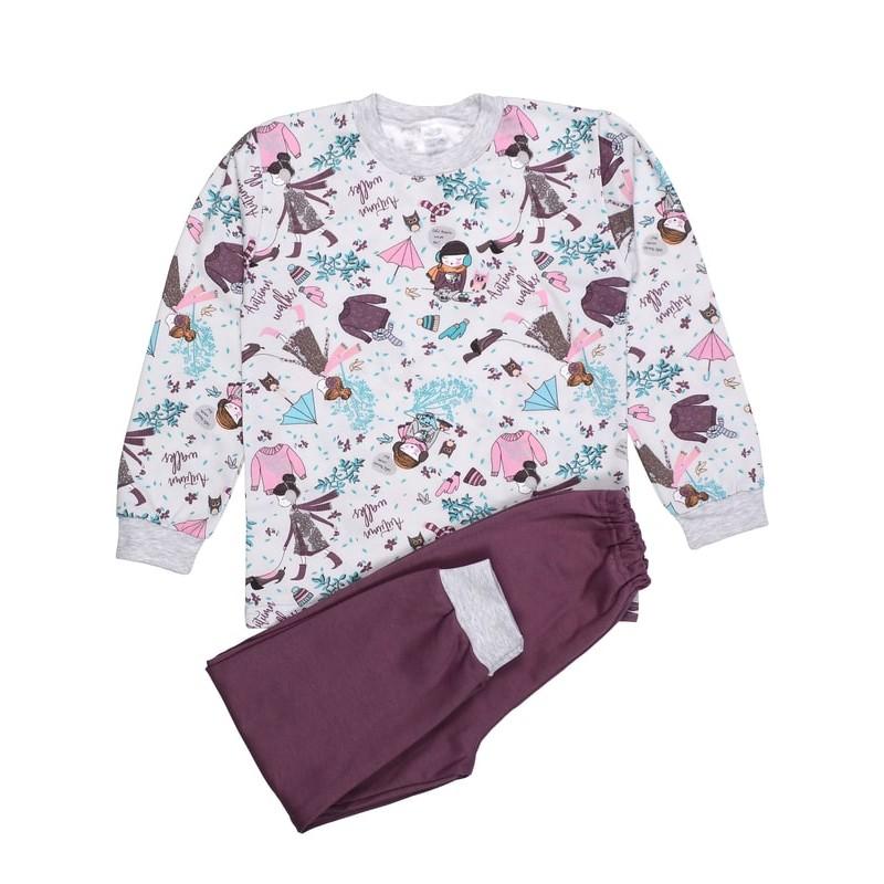 фото пижама детская для девочки кошки