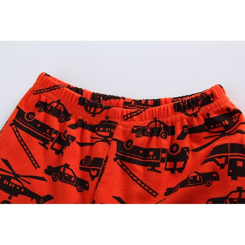 Пижама для мальчика Машины