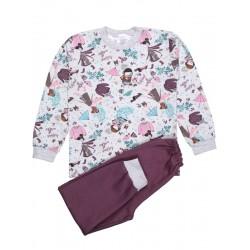 Пижама детская для девочки кошки