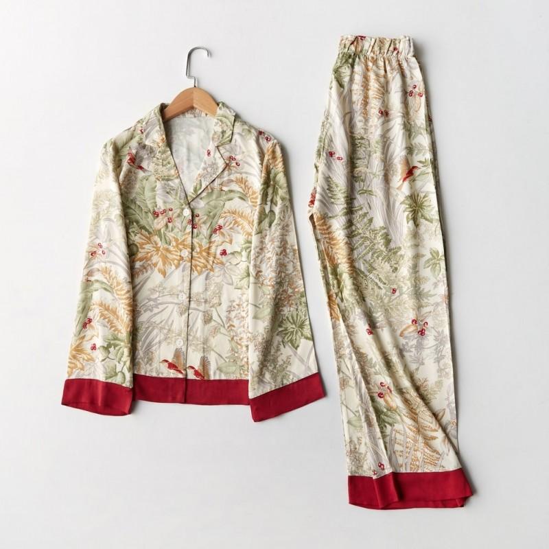 Пижама женская Leaves