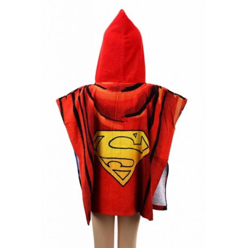 фото детское полотенце пончо Superman