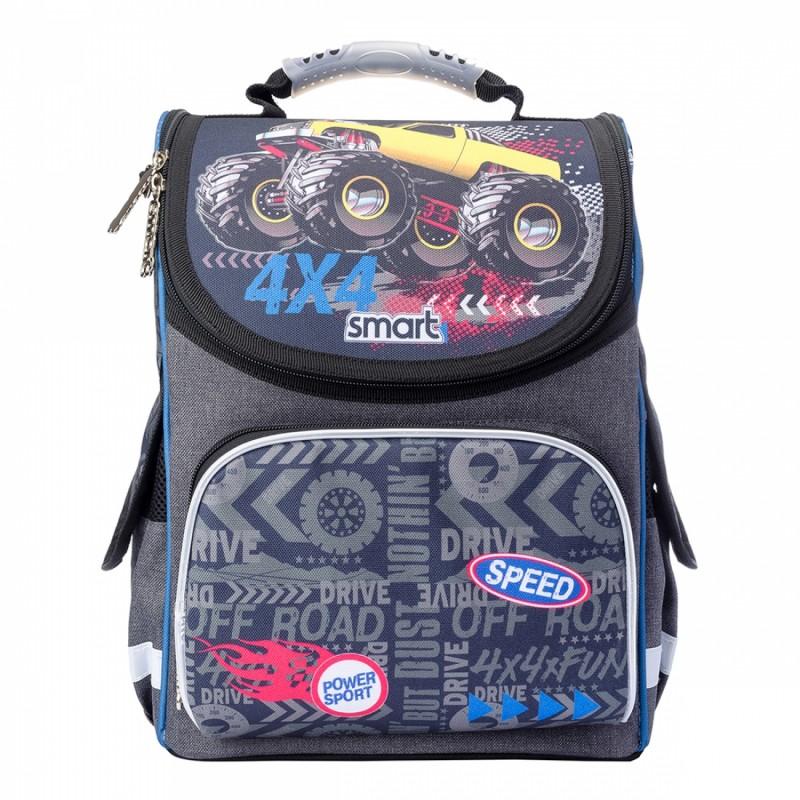 Рюкзак школьный каркасный Speed 4*4 фото