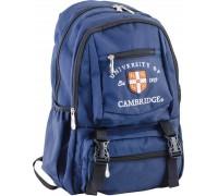 Рюкзак подростковый синий 31 * 43 * 13