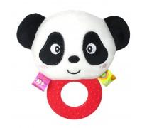 Мягкая погремушка - прорезыватель Панда
