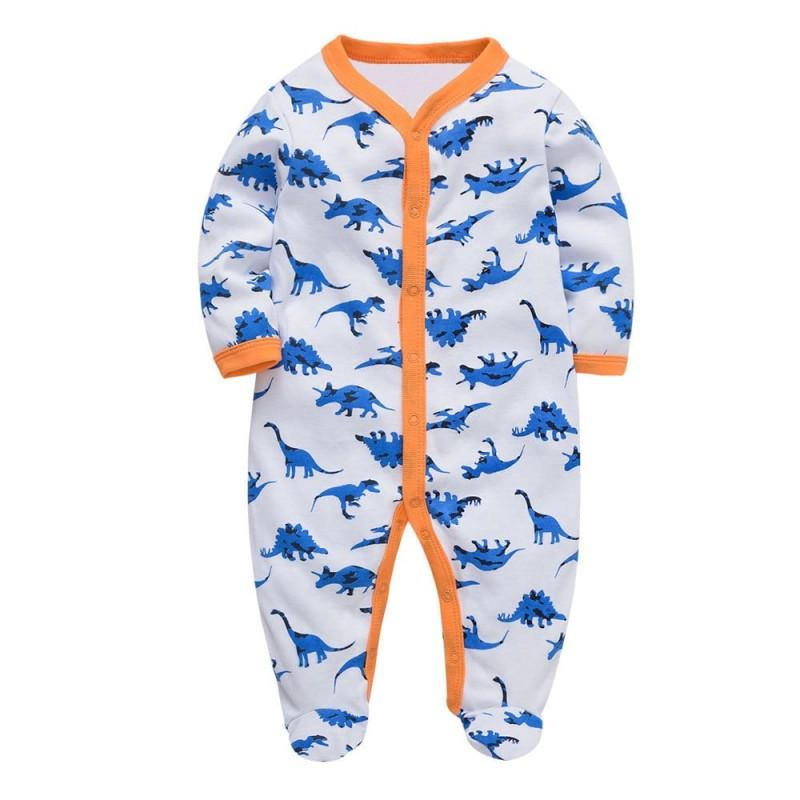 Человечек для мальчика Синие динозавры