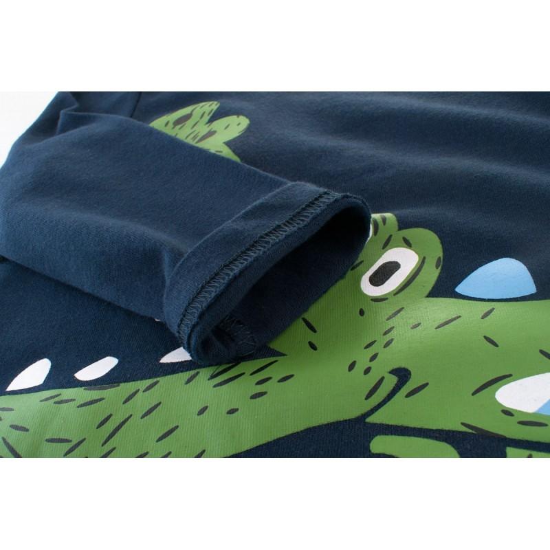 Кофта для мальчика крокодил фото