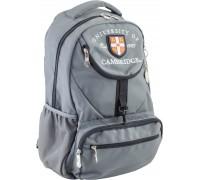 Рюкзак подростковый серый 31 * 47 * 17