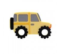 Прорезыватель Автомобиль, желтый