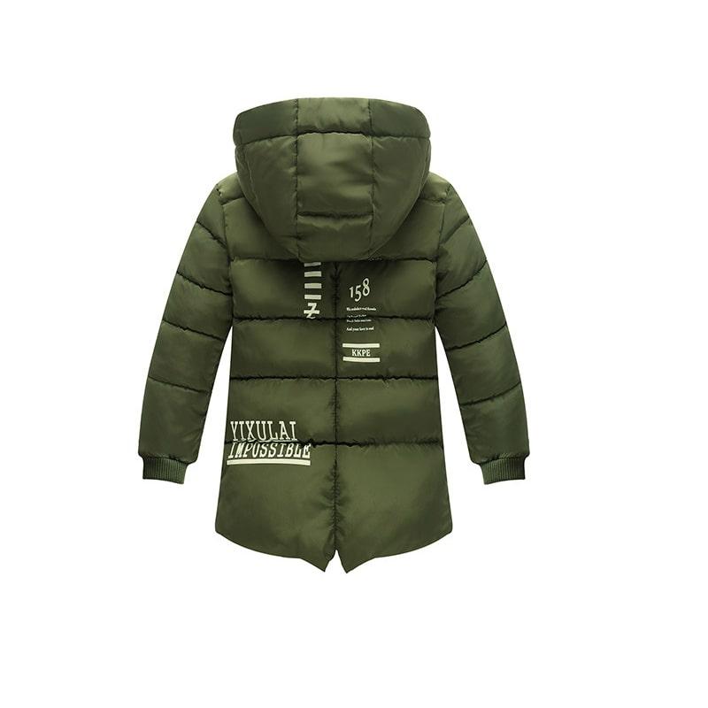 Куртка удлиненная демисезонная для девочки