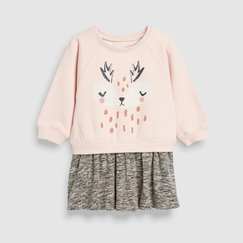 Платье для девочки Оленёнок