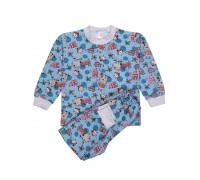 Пижама детская принт дом