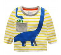 Кофта для мальчика Синий динозавр