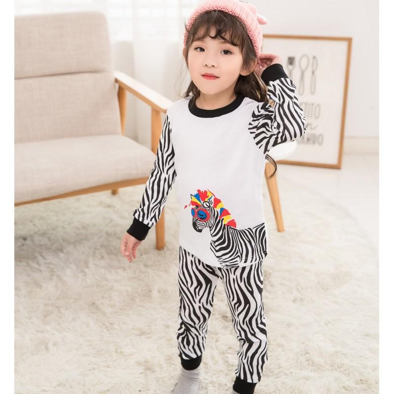 Пижама для девочки Zebra